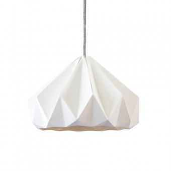 Suspension Origami Chestnut Blanche | Décoration | Lumière ...