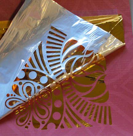 Outrageous Idea Transfer Foil To Paper With A Laser Printer Cedar Canyon Textiles Foil Print Transfer Foil Deco Foil