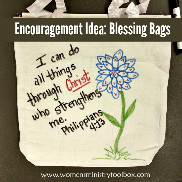 #encouragement #ministering #community #blessing #church #great #women #idea #bags #tool #your #for #and #to #inEncouragement Idea: Blessing Bags - Great tool for ministering to women in your church and community.Encouragement Idea: Blessing Bags - Great tool for ministering to women in your church and community. #blessingbags