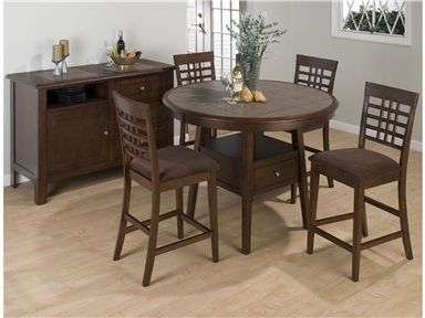 For Jofran Round 48 Counter Height Table Top 976 48t And Other Dining Room Tables At Bears Furniture In Franklin Pa This Handsome Is A Smart