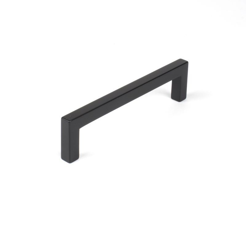 Century 8801 Builders Choice 5 Inch 128mm Center To Handle Cabinet Pull Matte Black Hardware Pulls