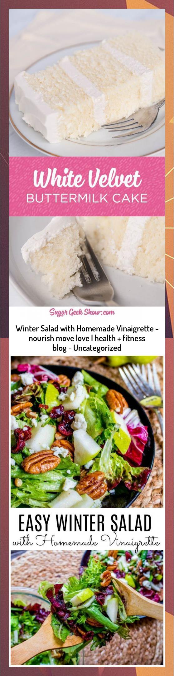 Winter Salad with Homemade Vinaigrette - nourish move love | health + fitness blog - Uncategorized #...