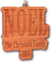 Customized NOEL Christmas Tree onament by SullyShine on Etsy