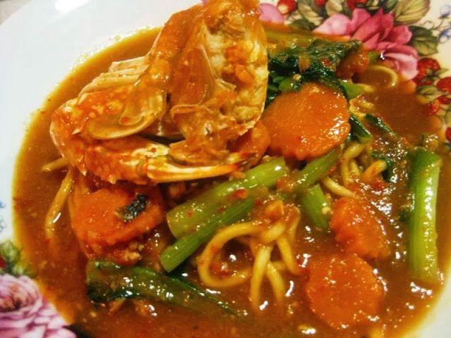 Resipi Crab Noodles Mee Ketam 2 Food Ethnic Recipes