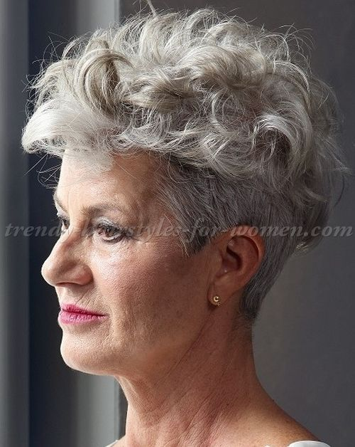 trendy grey hair styles trendy hairstyles to try in 2017 photo galleries for 4512