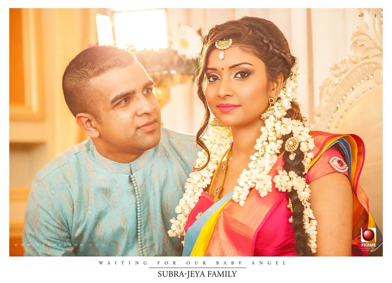 Indianlook Makeup Valaikappu Patthu Saree Hair Styles Indian Baby Showers Indian Baby