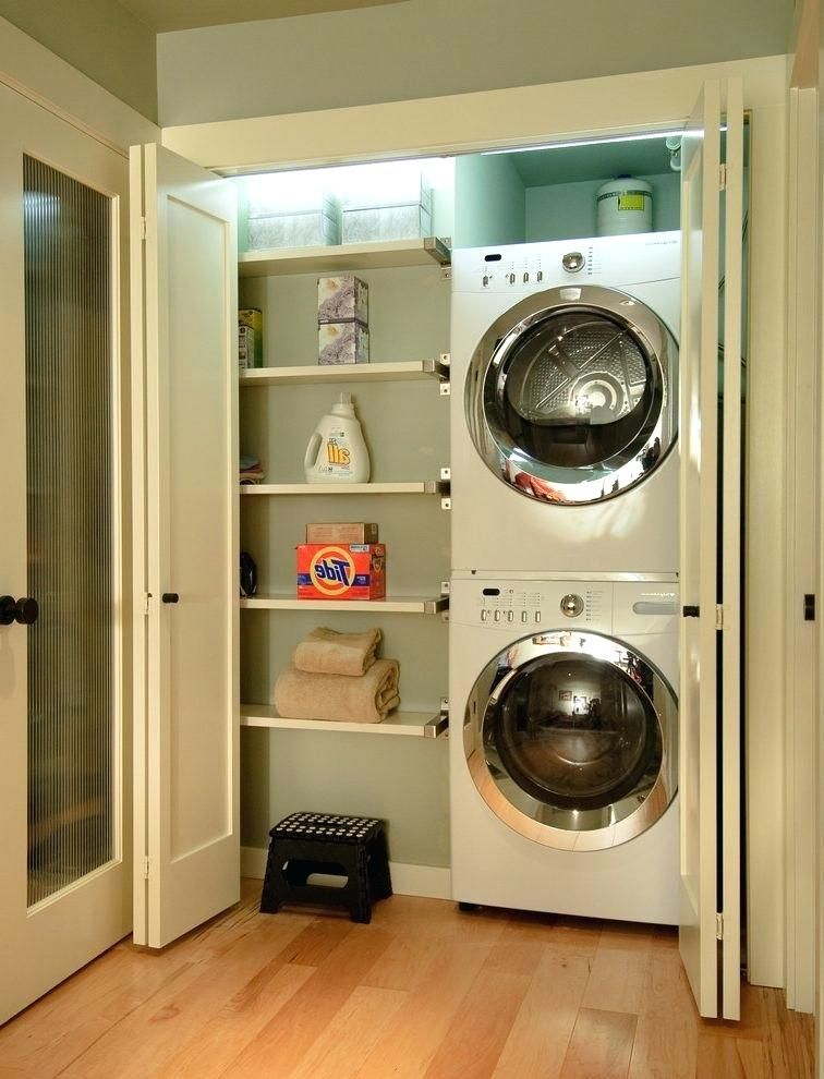 Laundry Closet Doors Ideas For When Your Laundry Room Is A Closet