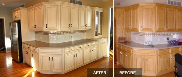 oak kitchen cabinet refinishing wood refinishing amp restoration brush amp roll painting 23851