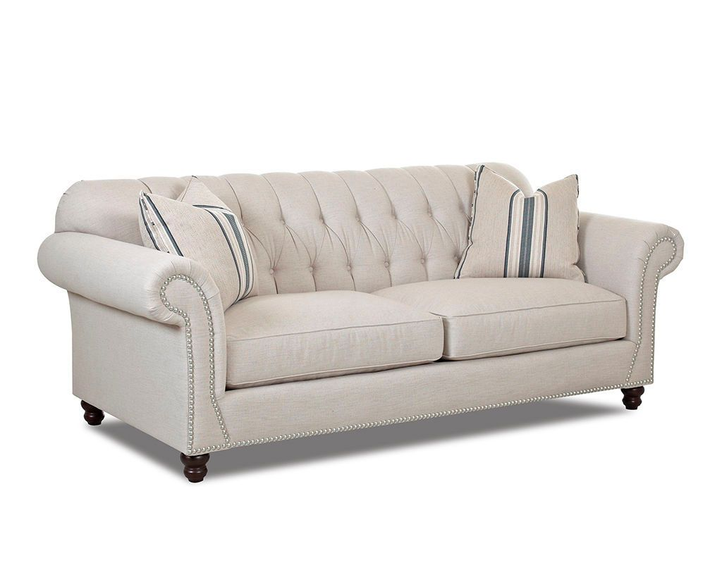 Klaussner Living Room Flynn Sofa D90910P S   Klaussner Home Furnishings    Asheboro, North Carolina