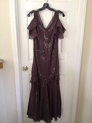 New Women's Formal Evening Beaded Dress  by Midnight Velvet