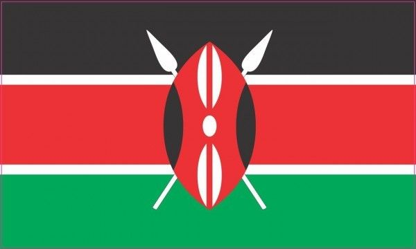 5in X 3in Kenya Kenyan Flag Sticker Kenya Flag Kenya Flags Of