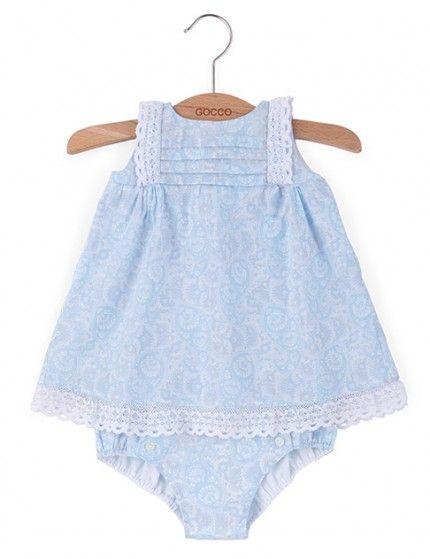 Vestido Estampado De Gocco P V 2014 Vestidos Para Niñas Vestidos Bebe Niña Ropa Para Niñas