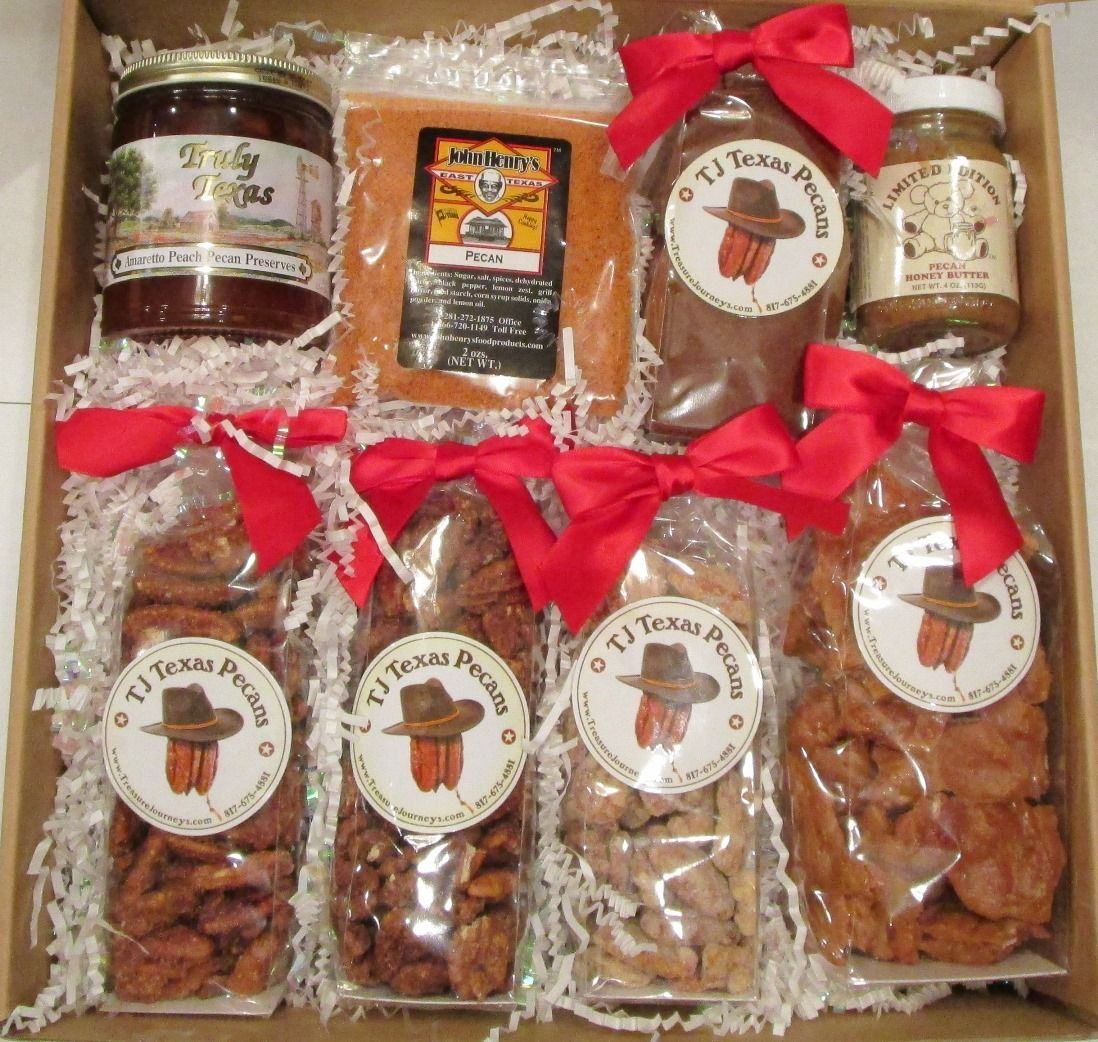 TJ Texas Pecan Lovers Food Gift Box
