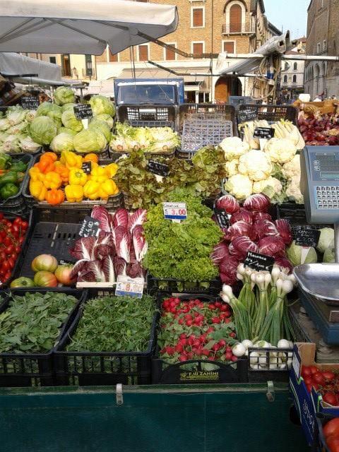 Padova Italy - a wonderful market