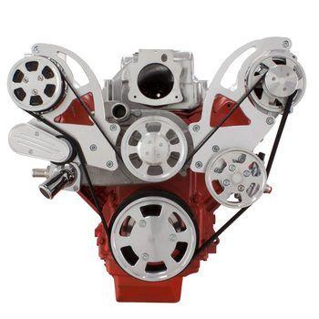 Chevy LS Engine Serpentine Kit AC, Alternator & Power