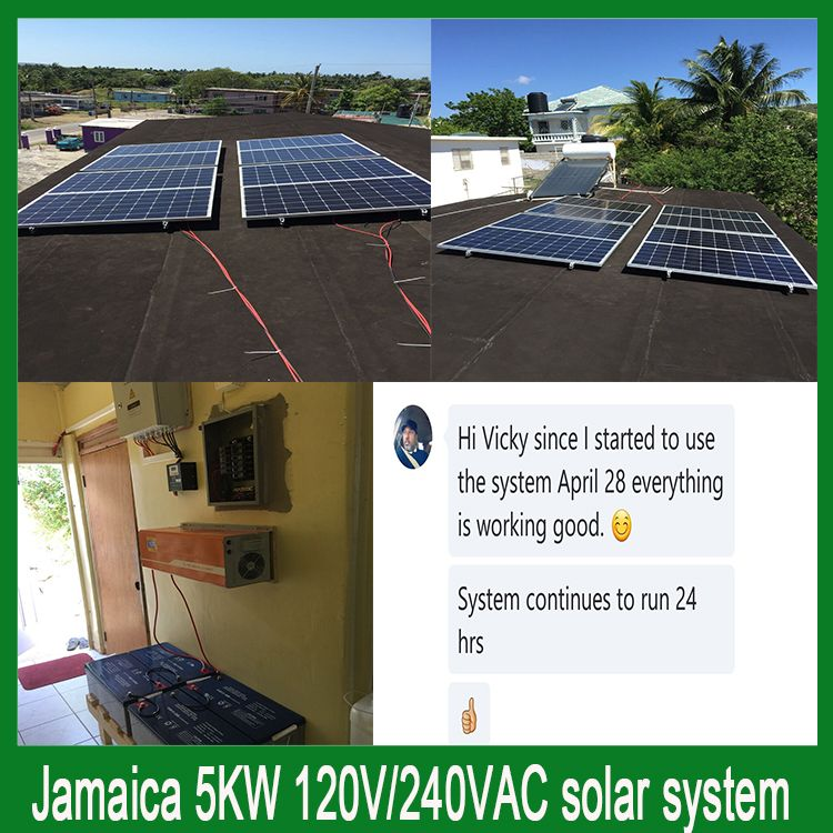 5kw Solar System In Jamaica In 2020 Solar Solar System Off Grid Solar Power