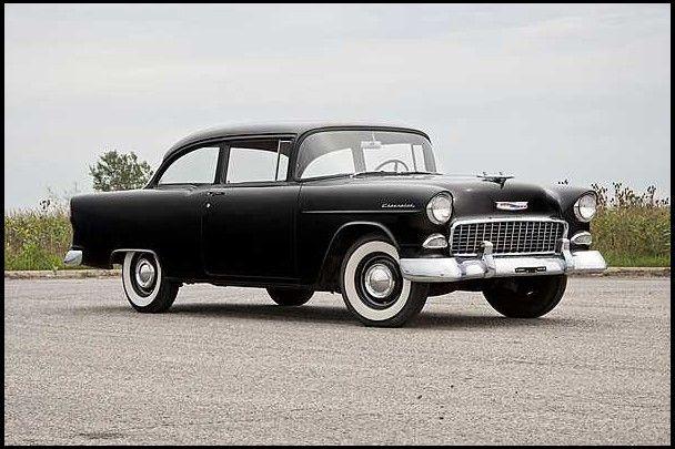 1955 Chevrolet 150 Utility Sedan 1955 Chevrolet Chevrolet 1955 Chevy