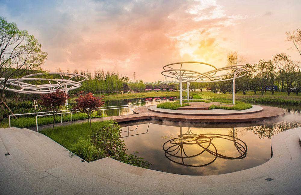 江山樾社区公园 译地设计 学景观 资源中心 Community Park Lakefront Park