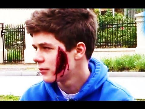 """https://t.co/bK7cxSlmnZ  Sliced Face Prank - Public Pranks - Funny Pranks 2014 http://img.youtube.com/vi/h4NPbJKnaHg/0.jpg *Today Special Deal*  Leave a like and a comment about what you want to see below! Creator: https://www.youtube.com/user/AussieTuberss/ Follow Prank Nation below! *Today Special Deal* Please follow and like us:  var addthis_config =   url: """""""",  title: """""""""""