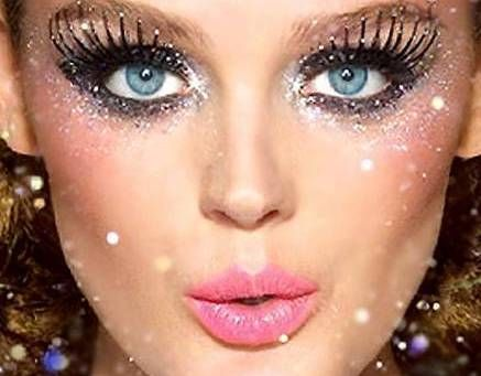 25 Eye-Catching Sparkly Makeup Ideas Queens, Makeup and Beauty ideas - cool makeup ideas for halloween