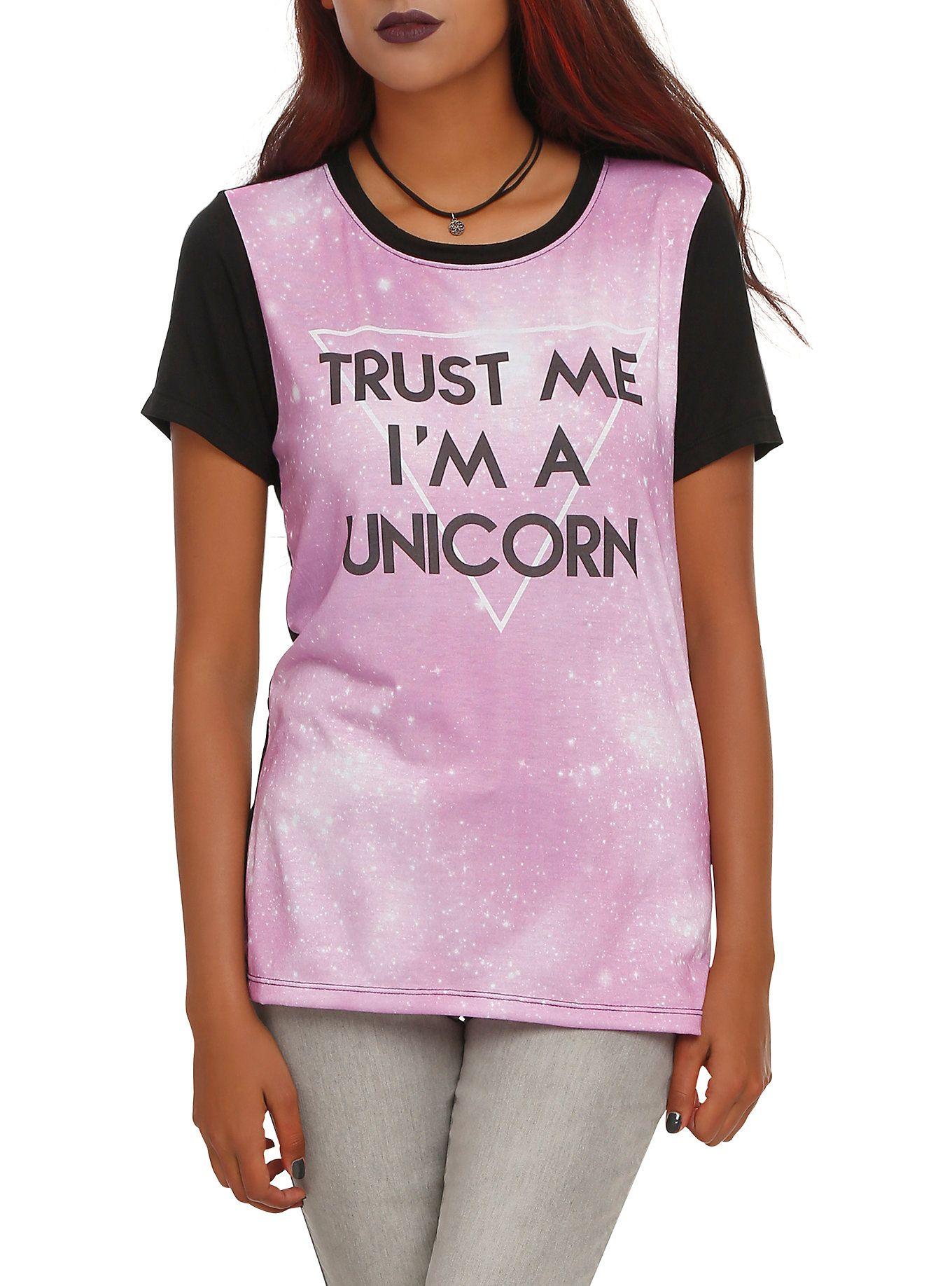 Unicorn Galaxy Girls T-Shirt   Hot Topic
