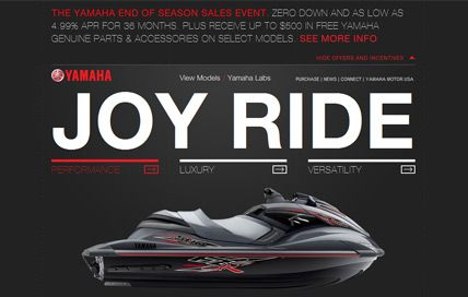 Yamaha WaveRunners www yamahawaverunners com/ | Website