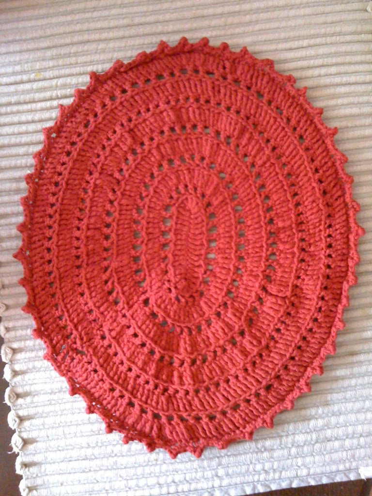 crochet placemat patterns free - Google Search | I love crocheting ...