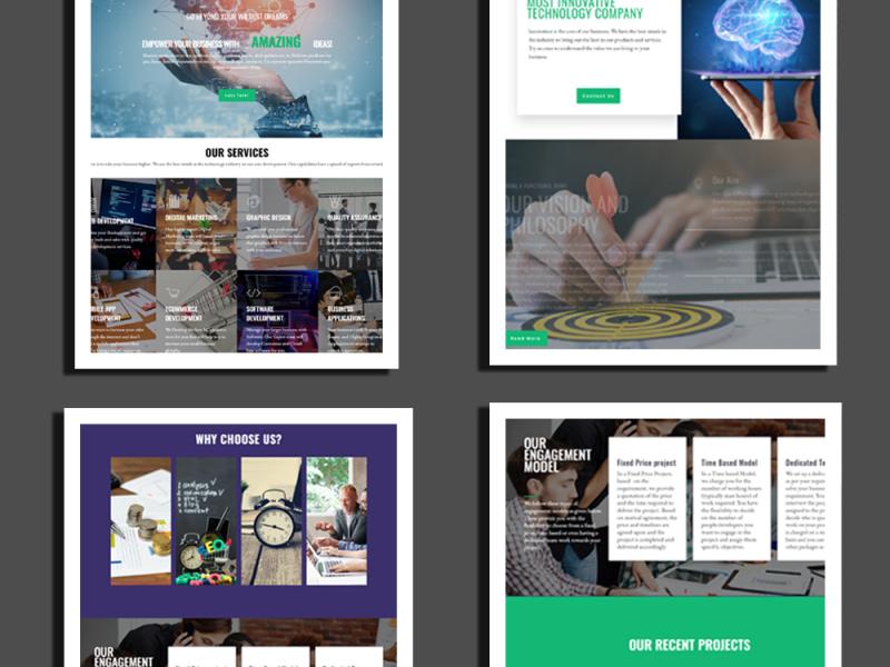 Pixelette Technologies Uk In 2020 Web Design Technology Design