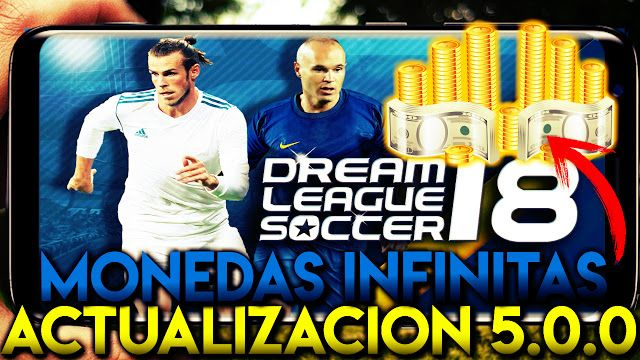 Descarga Dream League Soccer 2018 Hack Sin Root Apk Obb Monedas Infinitas Actualizacion 5 00 Monedas Equipo