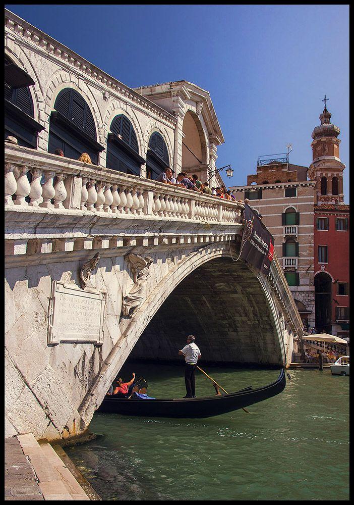 Travessia Rialto por  siudzi ,Venezia, Italy