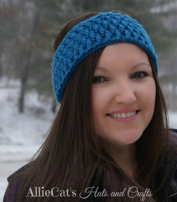 Frozen Beaches Headwrap Pattern By Allie Cats Hats And Crafts