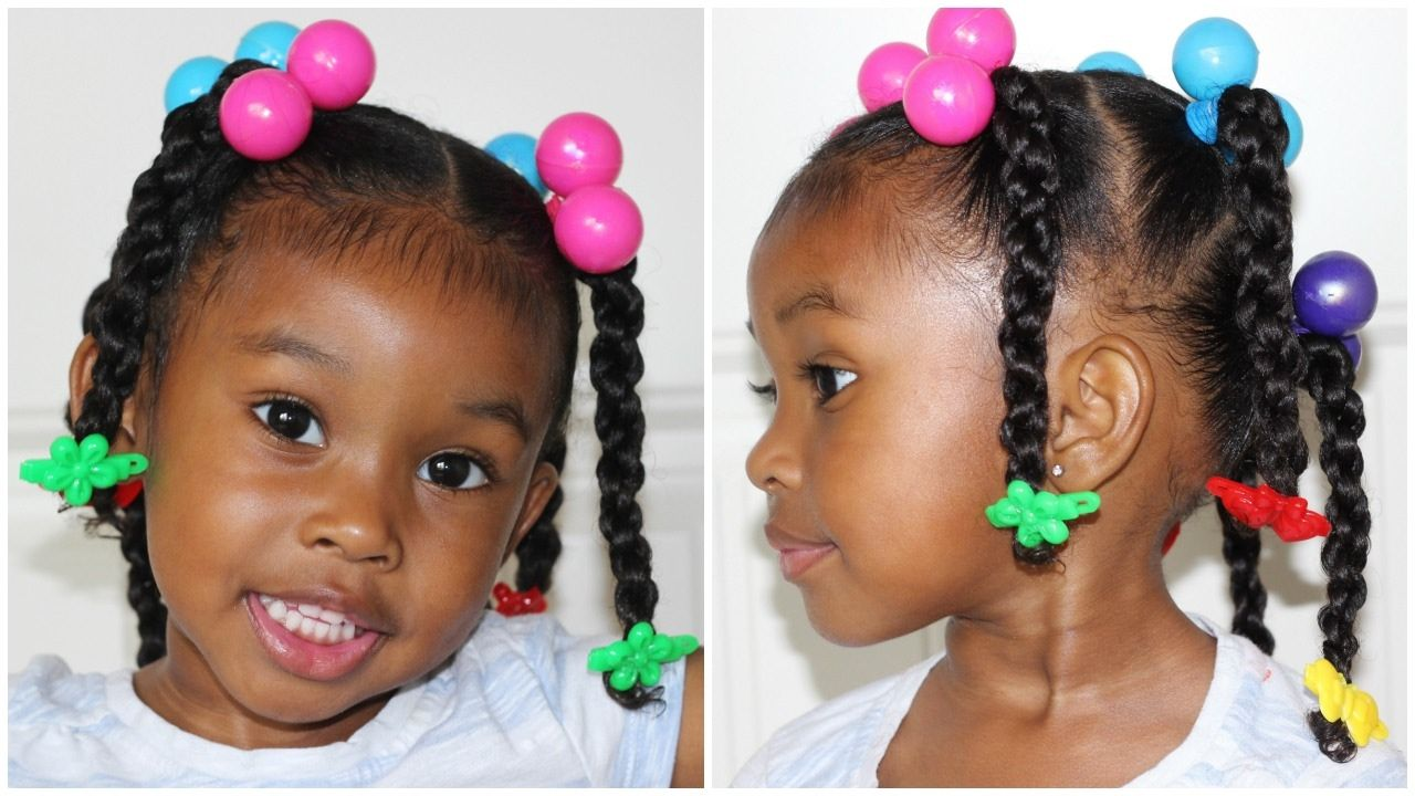 Little Black Girl Hairstyles With Barrettes Toddler Hairstyles