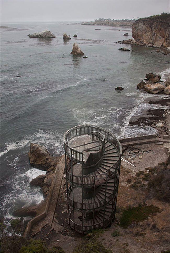 Staircase To Nowhere Pismo Beach California Http Papasteves Blogs News
