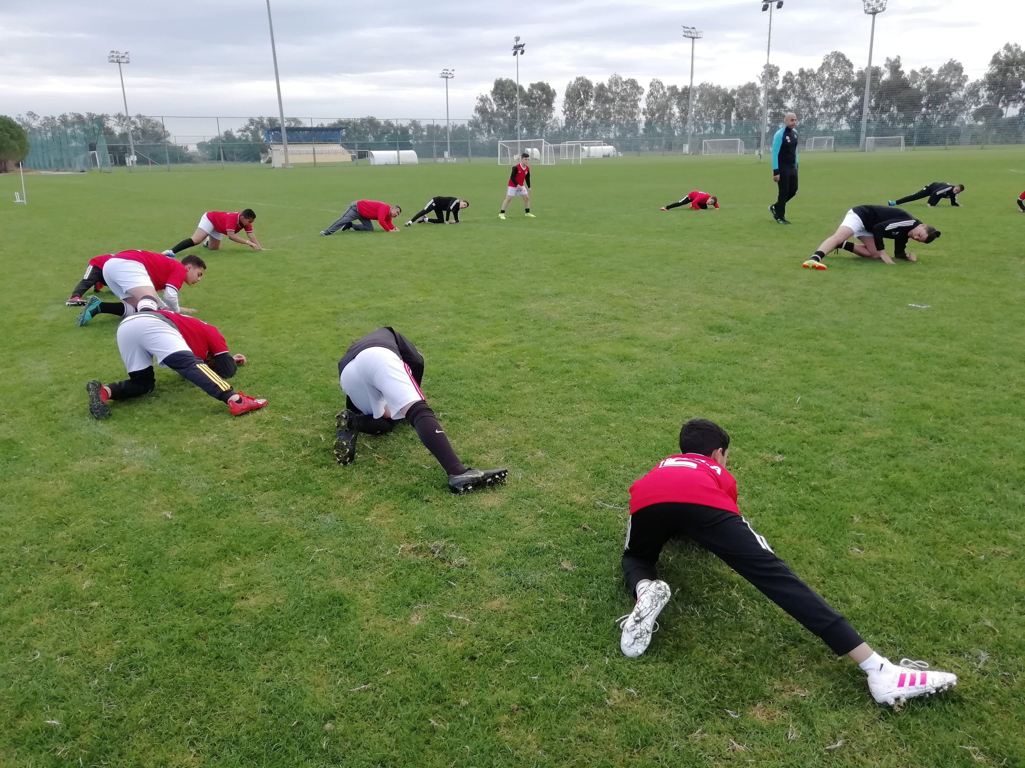 Football camp in Antalya