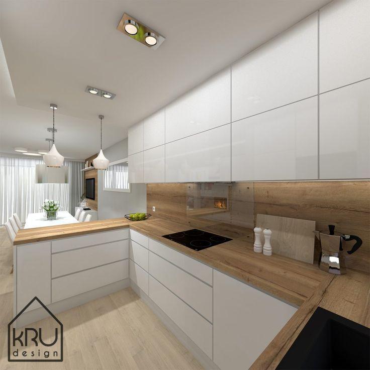 »Projektumfang: Küche - 2 Versionen von KRU Design   - Küche - #Design #KRU #Küche #Projektumfang #Versionen #Von #contemporarykitcheninterior