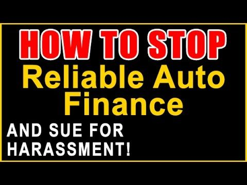 Reliable Auto Finance Calling? | Sue and Get Up to $1,500 Per Call | 855...