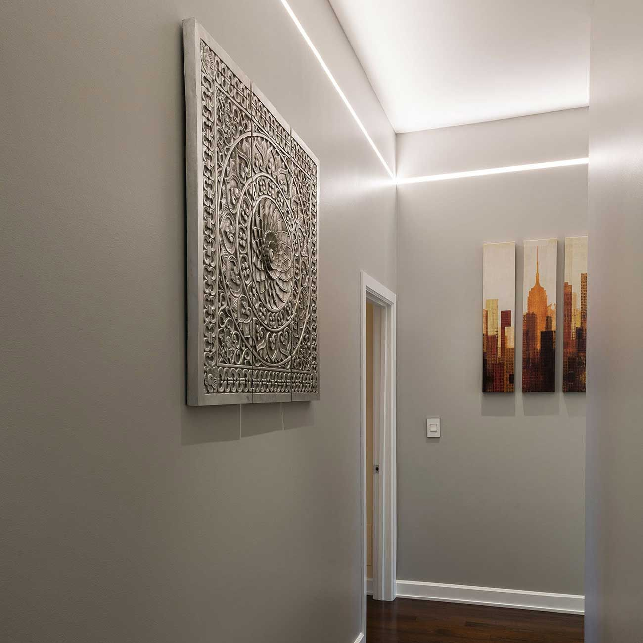 Reveal Cove Pathway Plaster In Led System 24v 417 E Pine