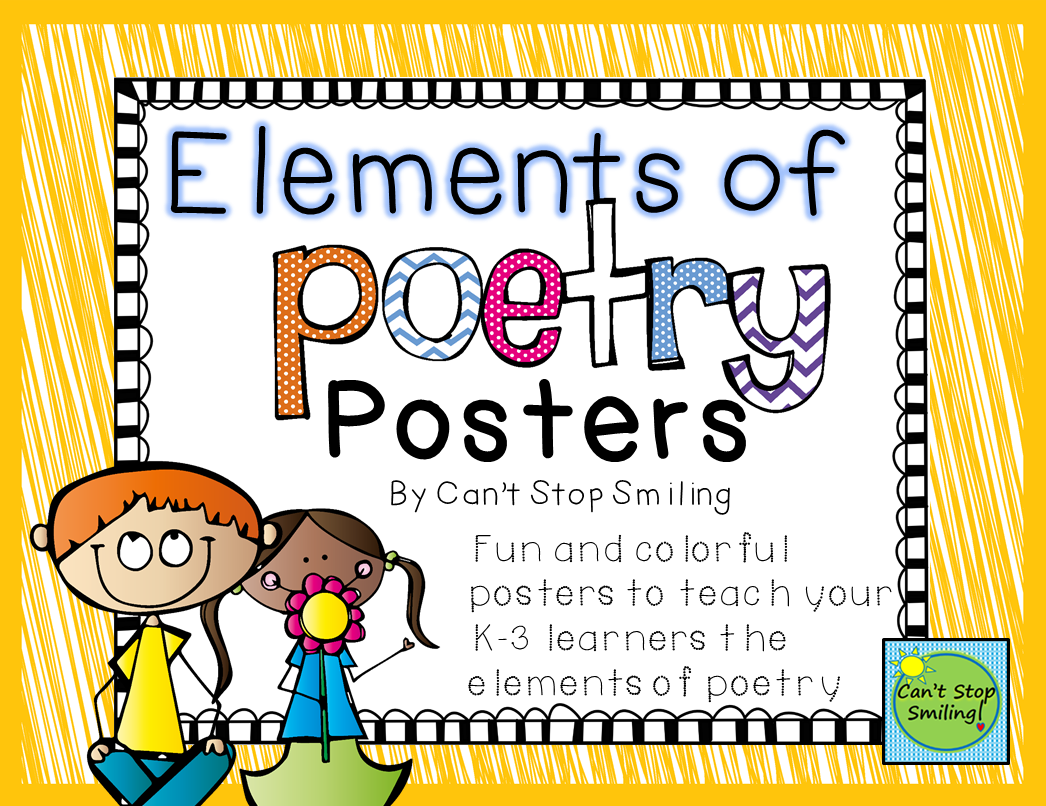 Poetry Posters Poetry Elements