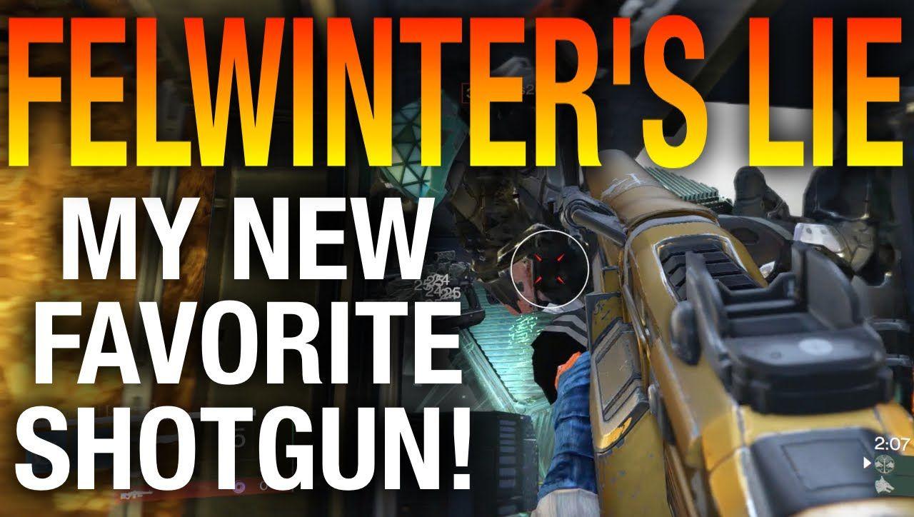 Felwinter's Lie Review - PVP and PVE - Destiny's Best Legendary Shotgun?