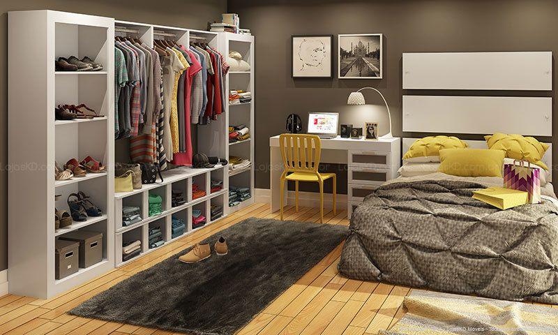 Aparador Leroy Merlyn ~ quarto armários embutidos sem porta Ofertas para ver Pinterest Quartos