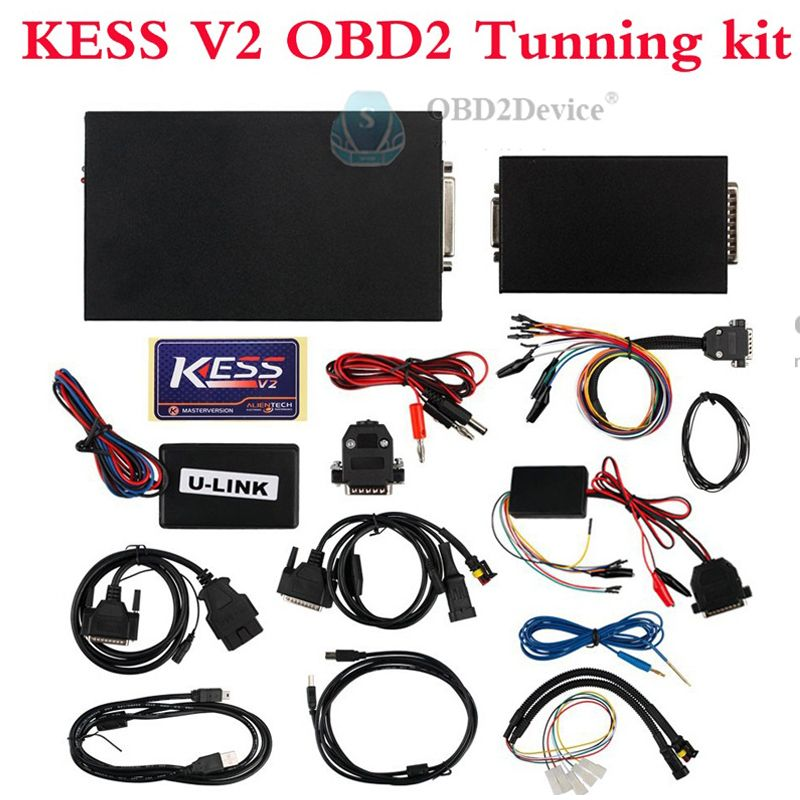 KESS V2 ECU Tuning Kit with Software V2 23 Firmware V4 036 for