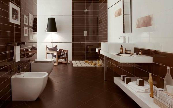 Moderne Badezimmer Fliesen 25 Ideen Fr Badgestaltung In Bezug Auf ...