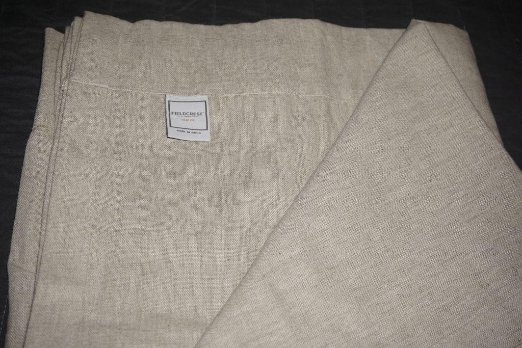Fieldcrest PAIR natural beige linen blend curtain panels rod pocket EUC 54x80-84 https://t.co/zmYIRcdFkj https://t.co/3scdpSEAKE
