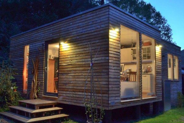 minihaus ferienhaus kubus fertighaus ausbauhaus bausatz wolff tiny house. Black Bedroom Furniture Sets. Home Design Ideas
