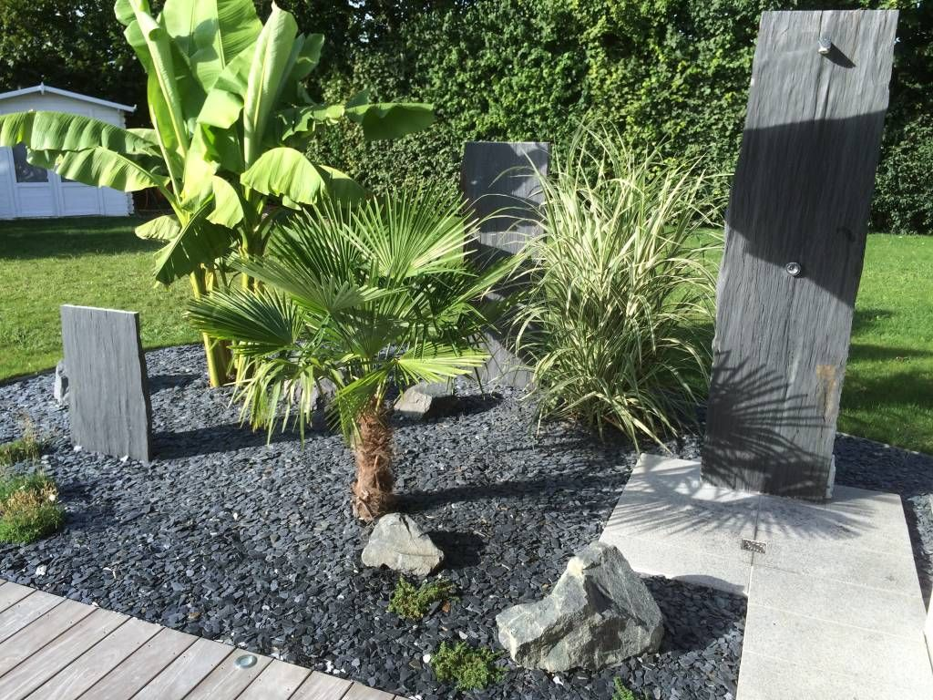 Photos de jardin de style de style tropical massif de for Massif jardin contemporain