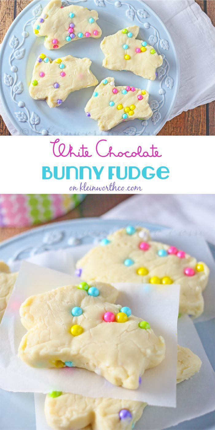 White chocolate bunny fudge easter cakes and baking inspiration white chocolate bunny fudge easter cakes and baking inspiration edible gift idea negle Images