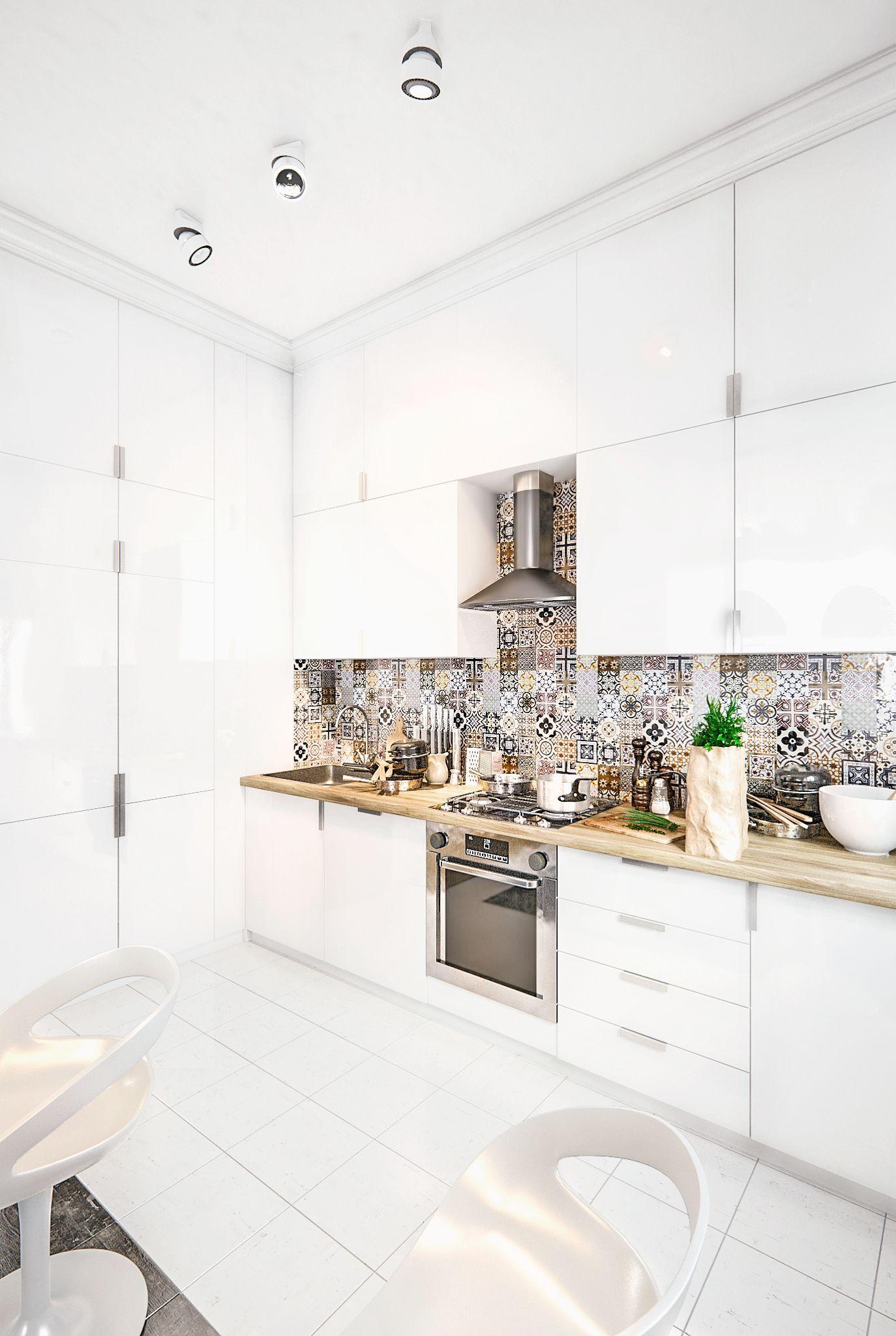 Кухня в скандинавском стиле - Галерея 3ddd.ru | моя кухня ...