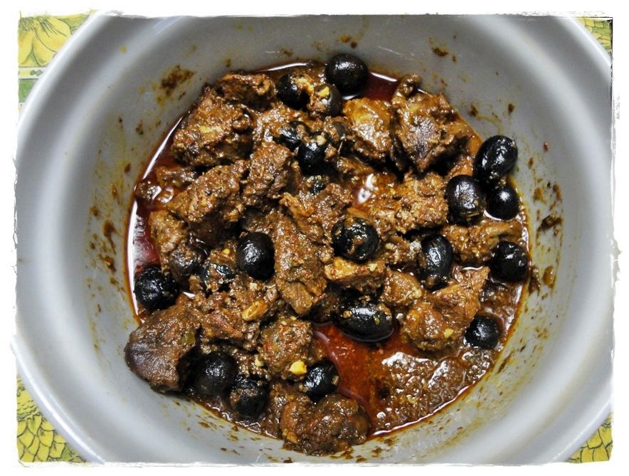 Photo of Stewed wild boar with olives