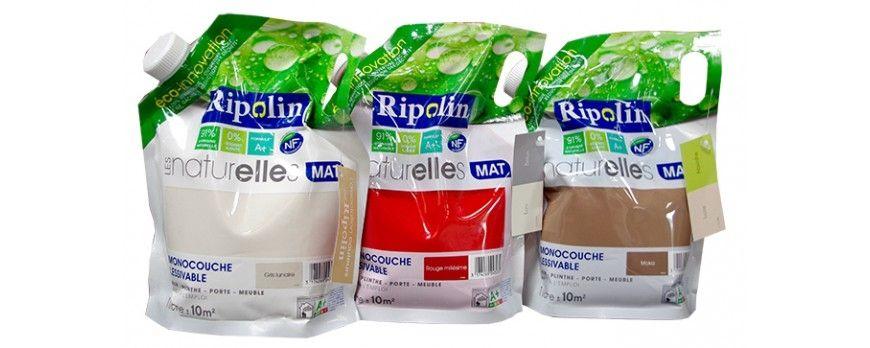 Découvrez notre gamme de Peinture RIPOLIN Les Naturelles Mat 1L sur - peinture satin ou mat