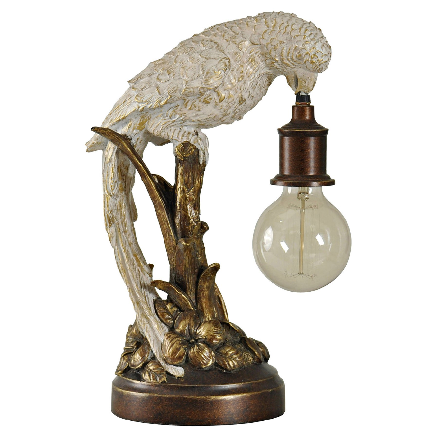 Style Craft Poly Parrot Accent Table Lamp  L53412Ds